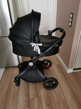 Wózek 2w1 Hot mom czarny