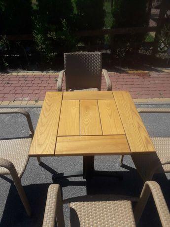 Stolik i krzesła tarasowe