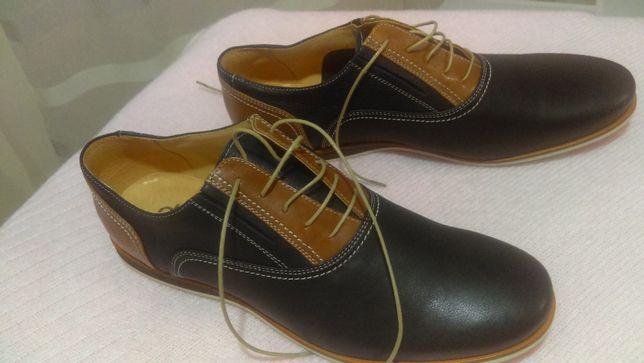 Męskie pantofle, nowe