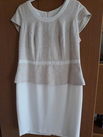 Sukienka 48-50 Wesele baskinka