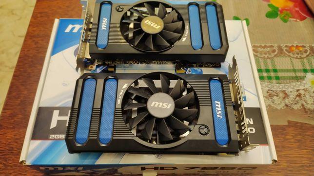 Видеокарта MSI Radeon 7850 (R7 265)