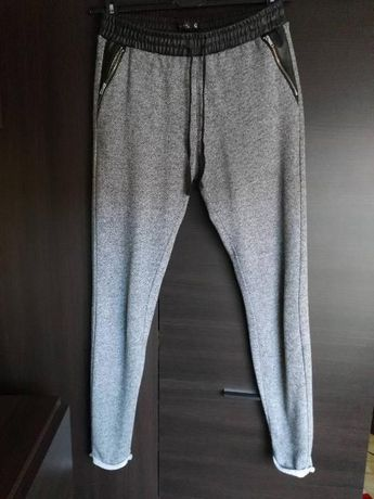 szare spodnie dresowe SinSay rozm. S