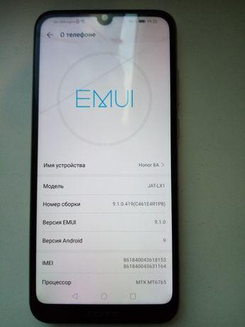 Продам телефон Huawei Honor 8a на 32гб