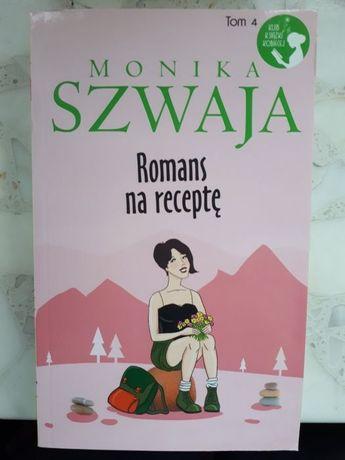 Romans na receptę Monika Szwaja nowa książka