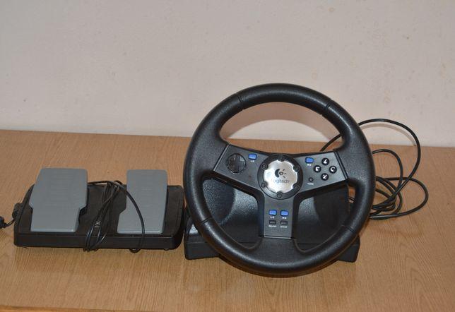 Kierownica Logitech Rally do konsoli Playstation 2