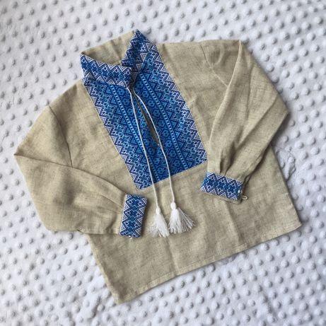 Вышиванка из льна