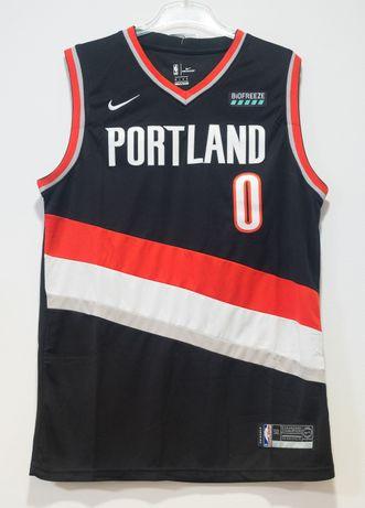 Koszulka NBA, koszykówka, Portland, Damian Lillard, black, roz. L,nowa