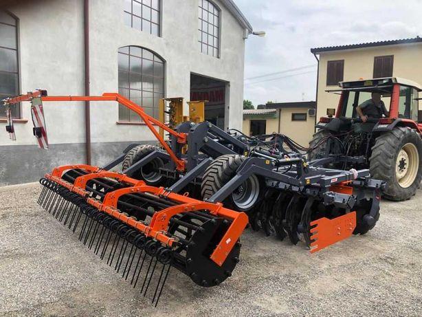 MANDAM GAL-K 4m Brona talerzowa z wózkiem 5m 6m GAL-C Landstal BTH