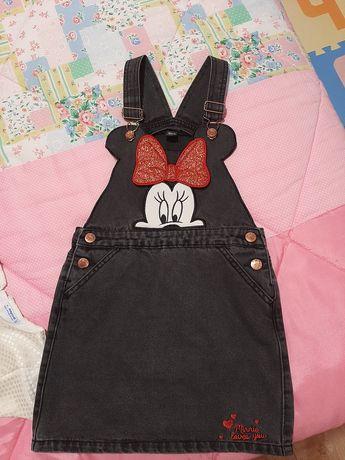 Saia da Minnie 6-7 anos