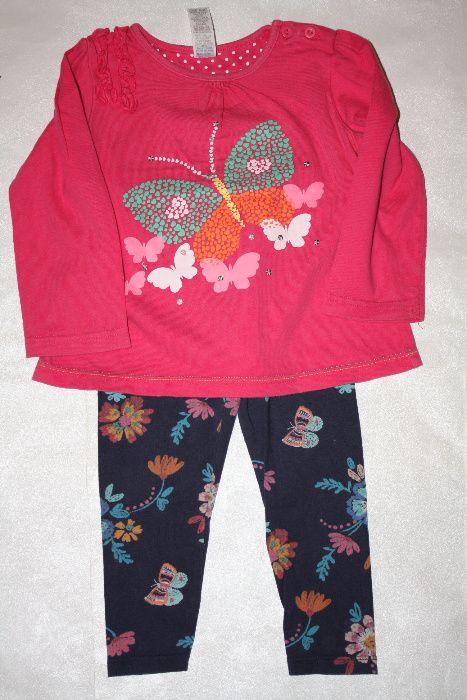 Красивый комплект,пижама девочке18/24 мес,р-92/98 отличное состоя Одесса - изображение 1