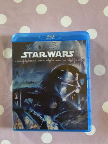 Trilogia  star wars, 4,5,6 ,blu ray