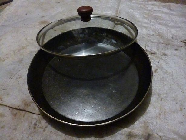 Сковорода,сковородка чугунная 25/4 см.