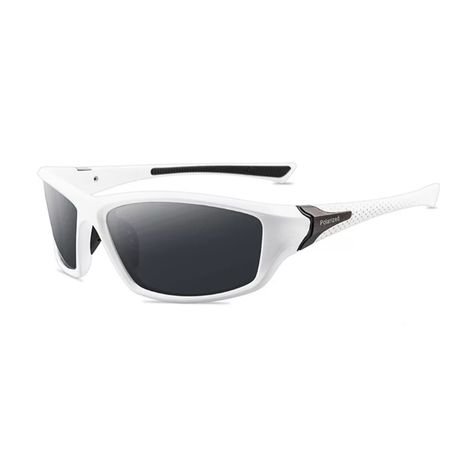 Очки солнцезащитные, белая оправа. Хорошее качество!