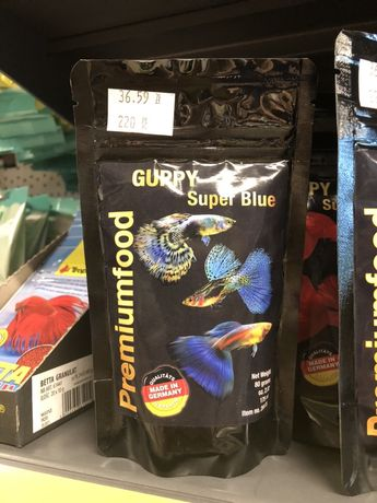 Premiumfood super blue gupik 175ml