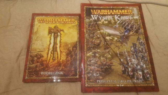 Warhamer podręcznik i przeczytaj jako pierwsze , bardzo dobry stan