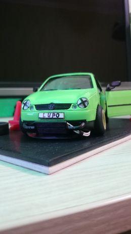 Машинка Volkswagen Lupo Whelly 1:24 Тюнинг