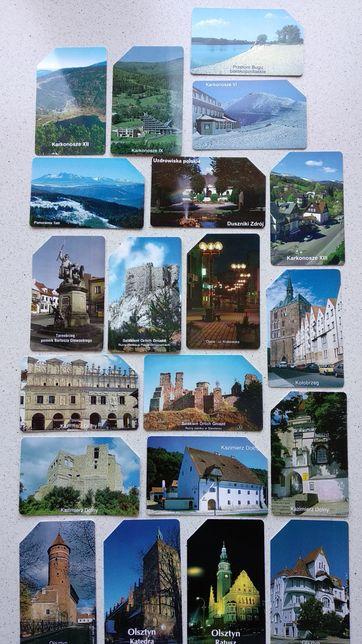 Karty telefoniczne polskie miasta