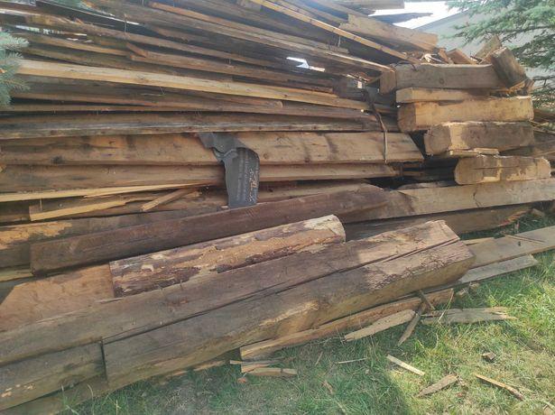 Drewno rozbiórkowe ponad 100 lat