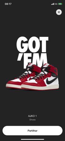 Nike Air Jordan 1 KO Chicago