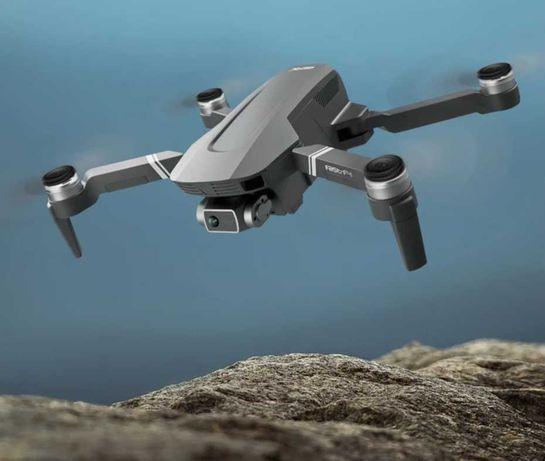 Dron F4 2xkamera GPS WiFi 30min lotu zasięg 2km zawis autopowrót 2xAKU