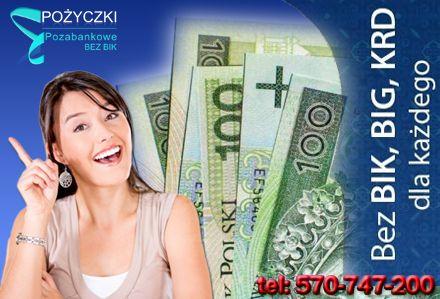 Pożyczki Kredyty dla ROLNIKÓW FIRM bez BIK oddłużeniowe z komornikiem