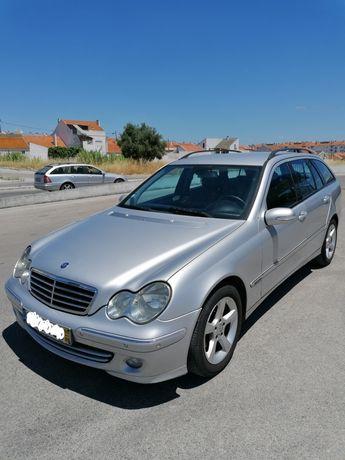 Mercedes C220 cdi 150cv 2005 nacional modelo Avantgarde cx automática