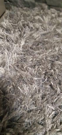 Dywan 160cm /230 cm szary gruby wysoki gęsty włos