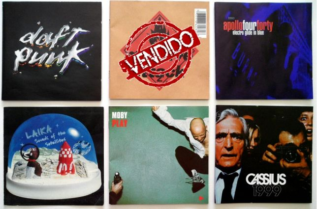 CD's Pop, Electro Pop, Synth Pop (individualmente ou em lote)