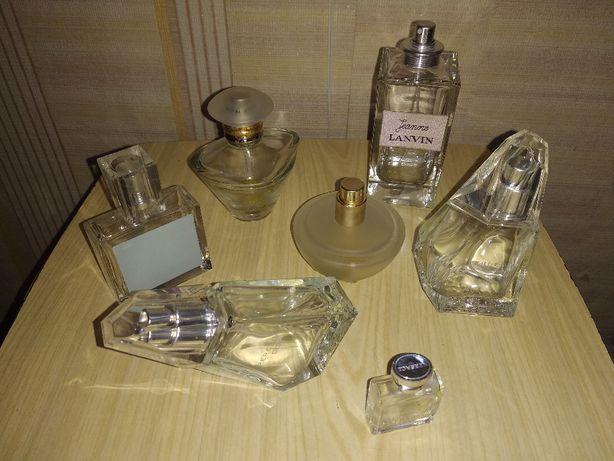 Пустые флаконы от парфюмов