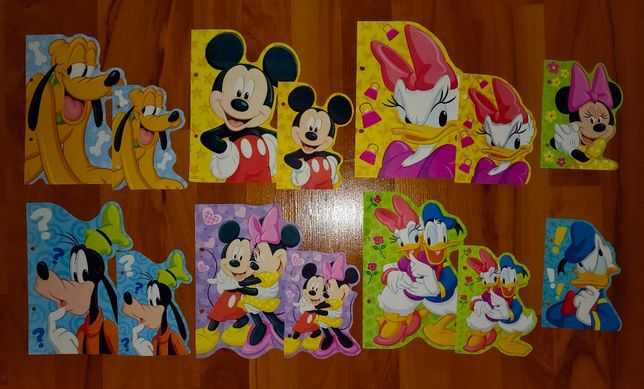 Karteczki Myszka Miki - A5 i A6