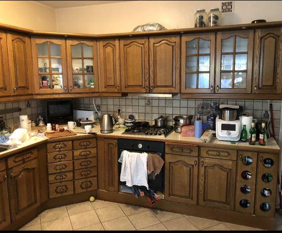 meble kuchenne 3,5x3m+ plyta gazowa, zlew, piekarnik