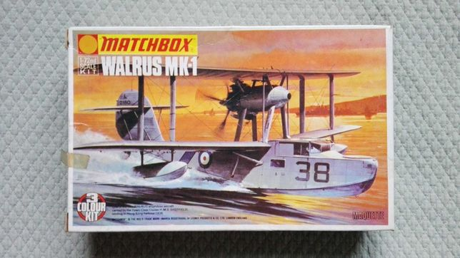 Matchbox Walrus Mk-1 (kit de avião de 1973)