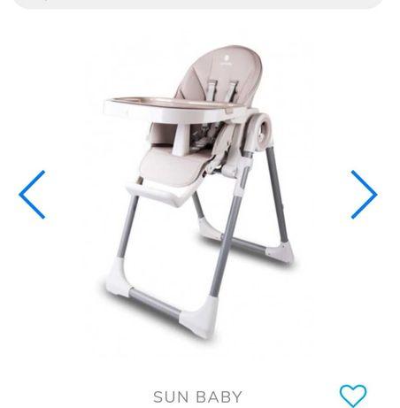 Krzesełko sunbaby stan idealny