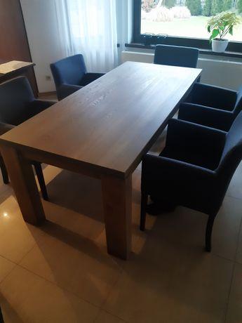 Stół z litego drewna jesion