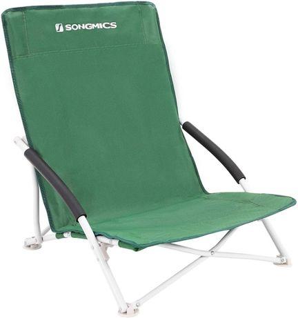 OUTLET - Krzesło plażowe składane kempingowe turystyczne wędkarskie