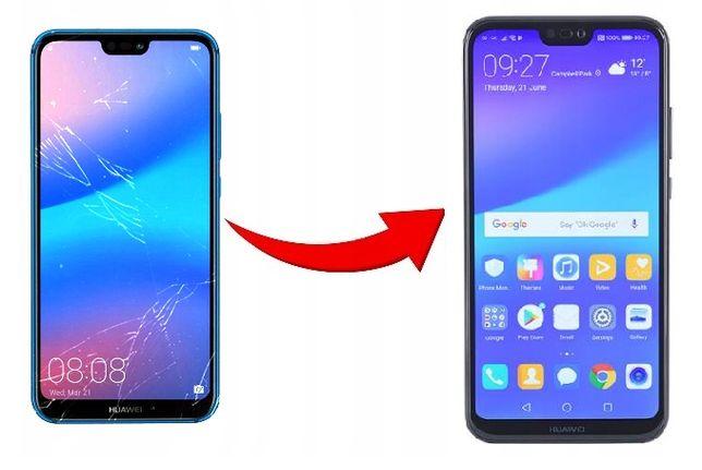 Samsung A20 A40 A50 A70 wyświetlacz ekran szybka wymiana SERWIS GSM
