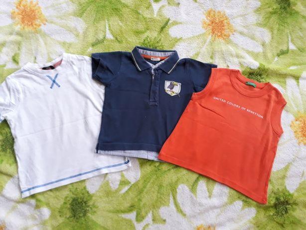 Футболки поло майка рубашка для мальчика на рост 86-92