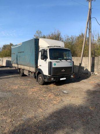 Маз зубренок удлиненный фургон 5 тонн