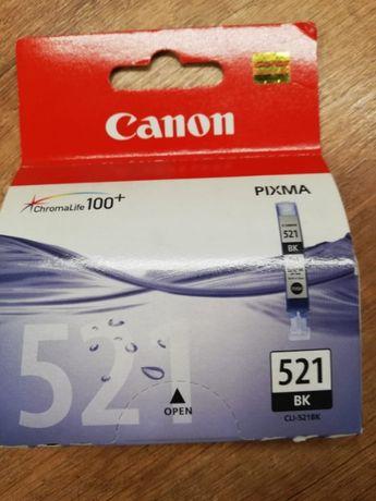 Oryginalny tusz foto czarny Canon CLI-521BK