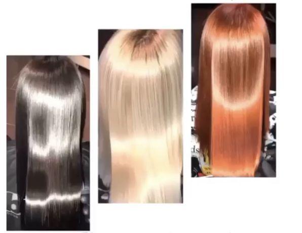 кератиновое выпрямление, ботокс, восстановление волос