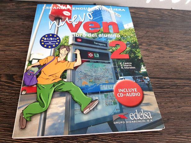 Książka Nuevo Ven 2 EDELSA do nauki języka hiszpańskiego