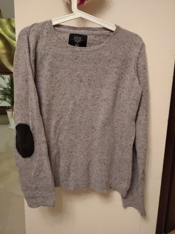 Sweter szary bawełna house S