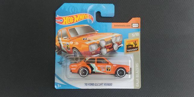 Autko, '70 Ford Escort RS1600 od HotWeels. Tania wysyłka od 8zł.
