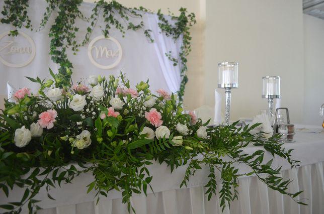 Florystyka ślubna i weselna. Dekoracje okolicznościowe.