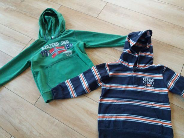 Komplet 3 bluz dla chłopca r.104, stan bdb (czyszczenie szafy :) )