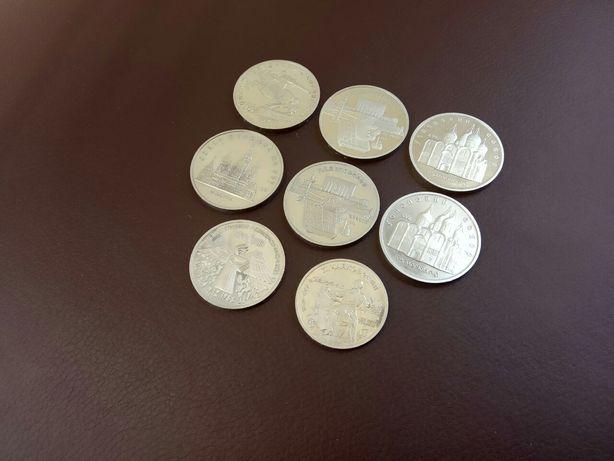 Коллекция юбилейных рублей СССР ,пруф.(1,3,5.рубль,монеты,нумизматика)