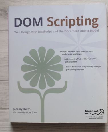 DOM Scripting: Web Design with JavaScript and the Document Object Mode