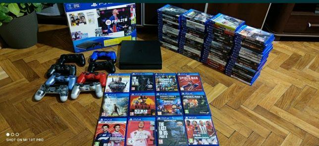 Sony PlayStation 4 PS4 Slim Pady Gry Zamiana Xbox one S 360 PS3