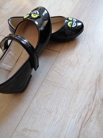 Nowe czarne lakierki 25 ok 16cm