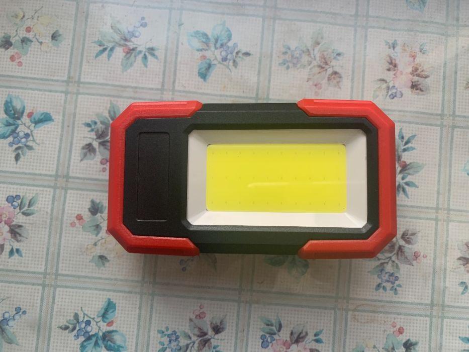 Светодиодный фонарик COB с магнитным основанием и зажимом на 350 лм Сумы - изображение 1